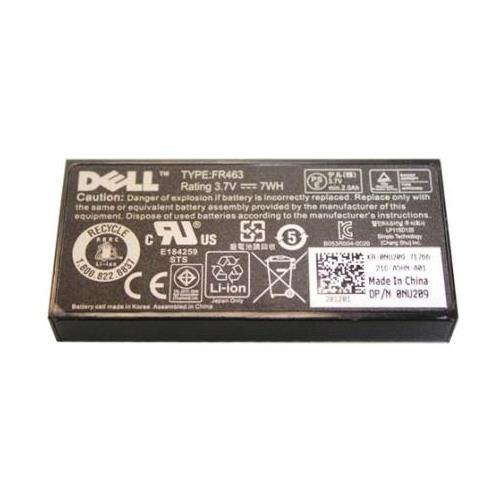 FR463 Dell 3.7V 7WH Lithium-Ion RAID Controller Battery (Refurbished)