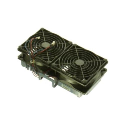 5064-3538 HP Dual Fan Assembly Installed Near the Power Supply