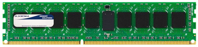 Axiom 4GB PC3-10600 DDR3-1333MHz ECC Registered CL9 240-Pin DIMM Dual Rank Memory Module FX621UT-AX