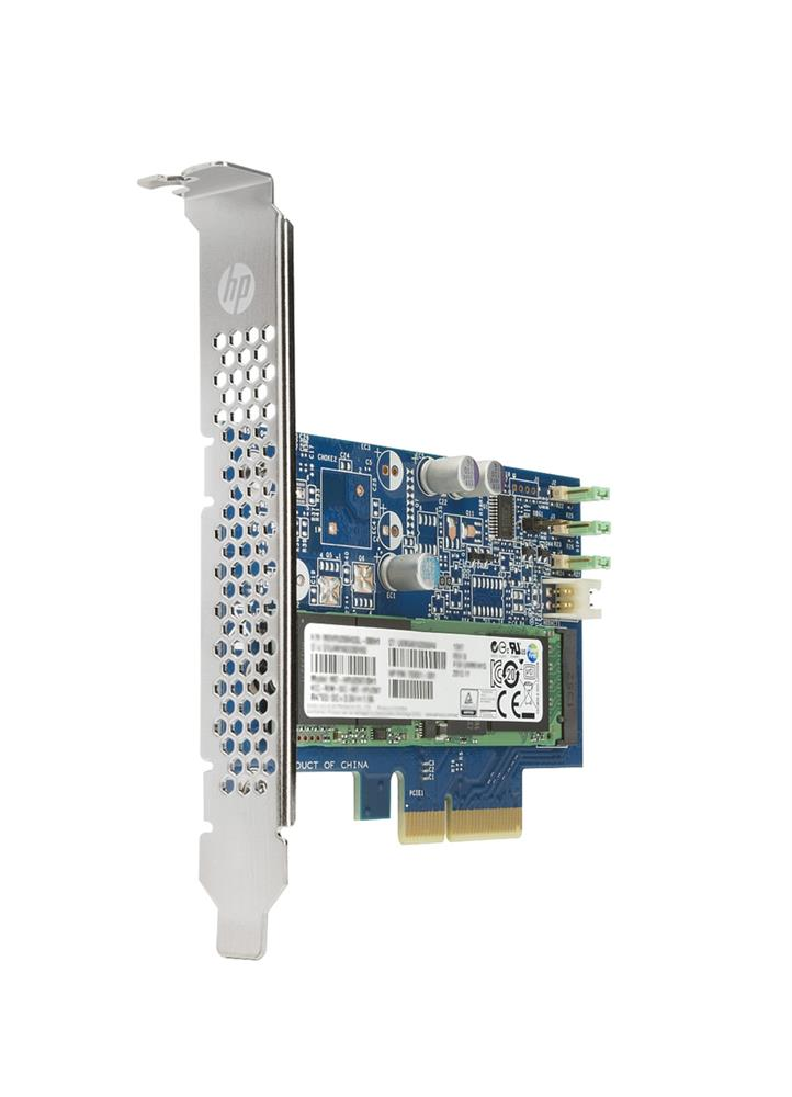 Y1T59AA HP Z Turbo Drive G2 512GB MLC PCI Express NVMe 3.0 x4 (SED) HH-HL Add-in Card Solid State Drive (SSD)