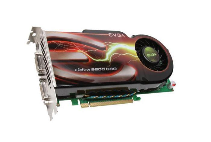 384-P3-N966-L1 EVGA GeForce 9600 GSO 384MB 192-bit GDDR3 PCI Express 2.0 x16 HDCP Ready SLI Support Video Graphics Card