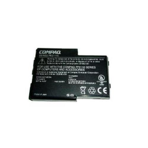 232060-001 Compaq 14.8v 4400mAh Li-ion Laptop Battery (Black) For EVO N150 Series and Sharp Mebius PC-XJ800R/PC-AR50 (Refurbished)
