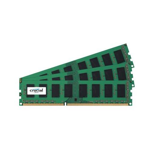 CT2586907 Crucial 12GB Kit (3 X 4GB) PC3-12800 DDR3-1600MHz non-ECC Unbuffered CL11 240-Pin DIMM Memory for HP Pavilion Elite m9780be PC