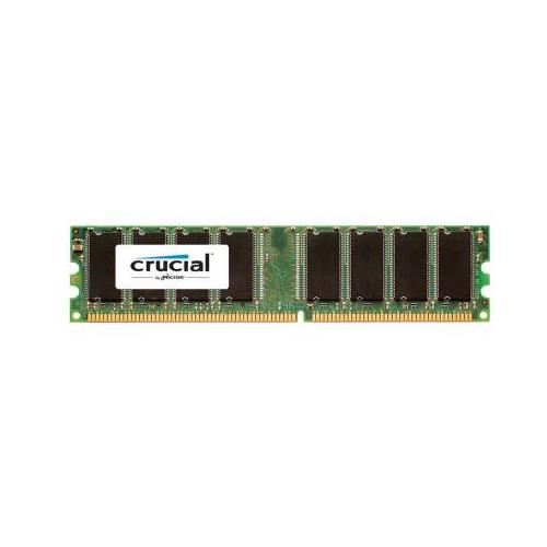 CT301435 Crucial 1GB PC3200 DDR-400MHz non-ECC Unbuffered CL3 184-Pin DIMM Memory Module for Gigabyte G-MAX FB2CB