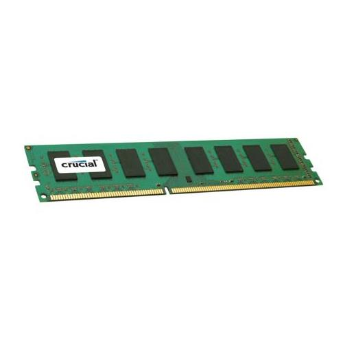 CT3346130 Crucial 4GB PC3-12800 DDR3-1600MHz non-ECC Unbuffered CL11 240-Pin DIMM 1.35V Low Voltage Single Rank Memory Module for ASUS p8q77-m