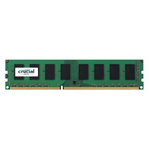 CT3725923 Crucial 4GB PC3-12800 DDR3-1600MHz non-ECC Unbuffered CL11 240-Pin DIMM Memory Module for Tyan B7016G24V4H System