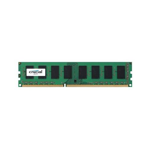 CT51264BD1339.M16FH Crucial 4GB PC3-10600 DDR3-1333MHz non-ECC Unbuffered CL9 240-Pin DIMM 1.35V Low Voltage Dual Rank Memory Module