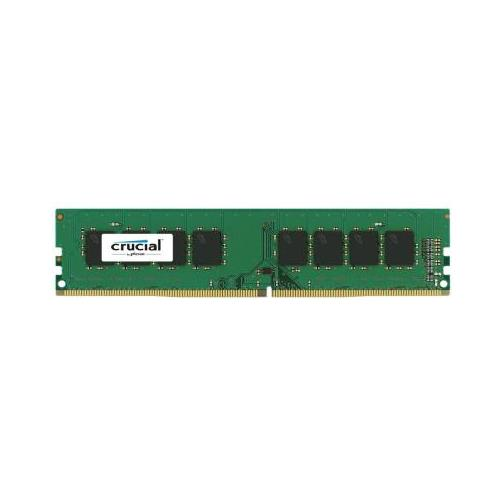 CT7687251 Crucial 16GB Kit (4 X 4GB) PC4-17000 DDR4-2133MHz non-ECC Unbuffered CL15 288-Pin DIMM 1.2V Single Rank Memory for ASRock Z170 Extreme6 System