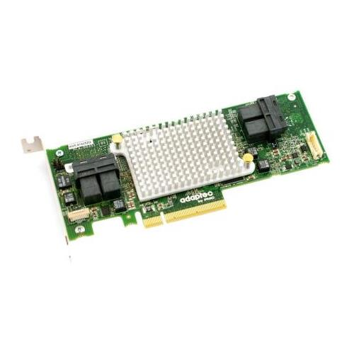 2281600-R-A1 Adaptec 16-Ports SATA / SAS 12Gbps PCI Express 3.0 x8 Low Profile Controller Card