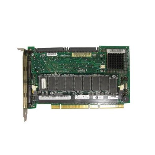 047JFR Dell PERC 3/DC 128MB Cache Ultra-160 SCSI LVD Dual Channel PCI-X RAID Controller Card for PowerEdge 4400