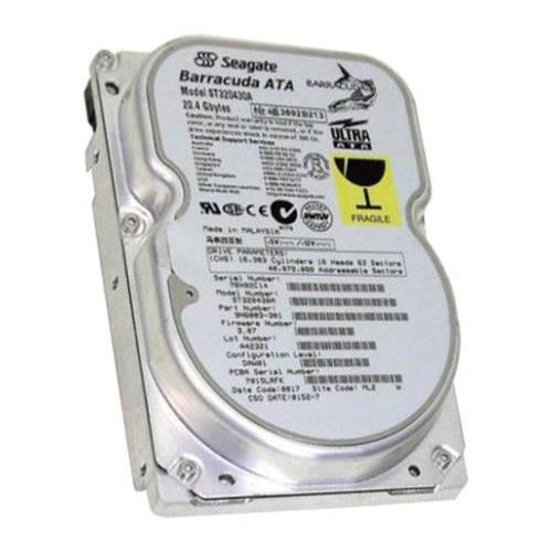 ST320430A Seagate Barracuda ATA 20.4GB 7200RPM ATA-66 512KB Cache 3.5-inch Internal Hard Drive