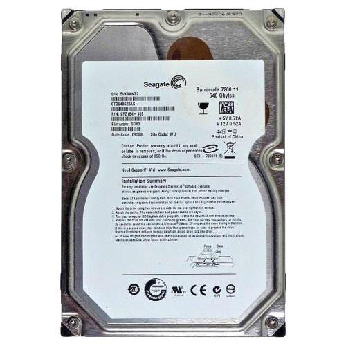 SEAGATE BARRACUDA 7200.11 ST3640623AS DRIVER PC
