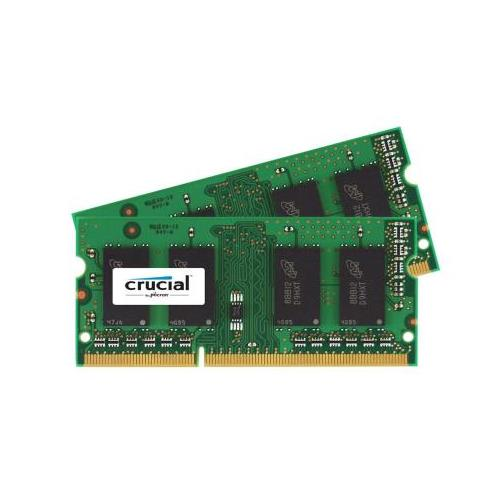 CT2380548 Crucial 4GB Kit (2 X 2GB) PC3-10600 DDR3-1333MHz non-ECC Unbuffered CL9 204-Pin SoDimm 1.35V Low Voltage Memory for HP Presario CQ36-106TX Notebook