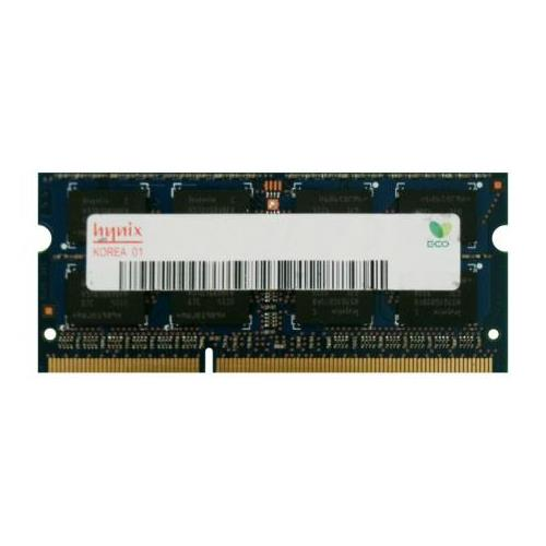 HMT451S6MFR8A-H9N0 Hynix 4GB PC3-10600 DDR3-1333MHz non-ECC Unbuffered CL9 204-Pin SoDimm 1.35V Low Voltage Single Rank Memory Module