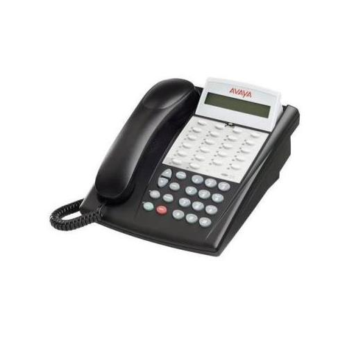 18D-003 Avaya Partner 18D Display Telephone Black Series 2 (Refurbished)