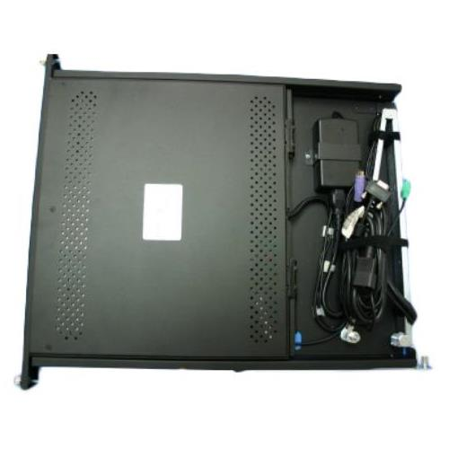 091-000-088 EMC KVM Rackmount 15-Inch LCD and PS2 Keyboard with Trackball
