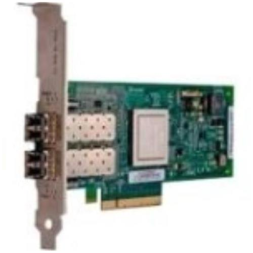 406-BBEL Dell Qle2562 Dual-Ports 8Gbps Fibre Channel PCI Express 2.0 x8 Low Profile Host Bus Network Adapter