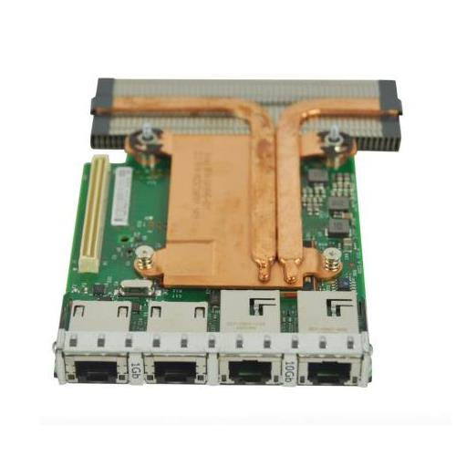 98493 Dell X540 BASE-T2 4-Port 2x10GbE 2x10/100/1000 RJ45 Daughter Network Interface Card Compellent SC8000