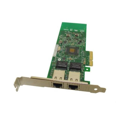 G174PP Dell Intel Pro 1000 PT Dual-Ports 1Gbps PCI Express Gigabit Network Interface Card