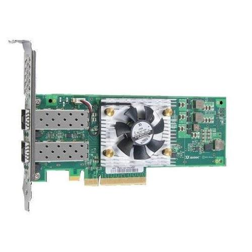 XFHVH Dell QLogic FastLinQ QL45212-DE Dual-Ports 25Gbps Full Height SFP28 Network Adapter