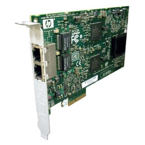 012393-001 HP NC380T PCI-Express Dual Port 1000Base-T Multifunction Gigabit Ethernet Server Adapter Network Interface Card (NIC)