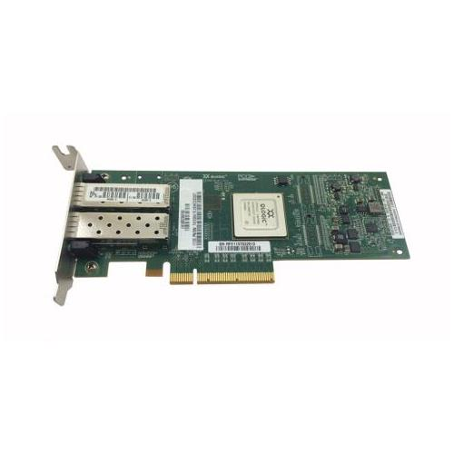 QLE8152-SR-T-N QLogic Dual Port 10Gbps Ethernet to PCIe Converged Network Adapter (CNA)