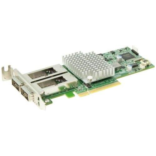 AOC-S40G-i2Q SuperMicro Dual-Ports QSFP+ 40Gbps PCI Express 3.0 Low Profile Network Adapter