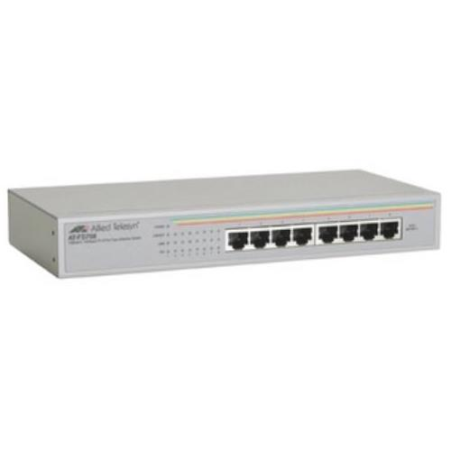 AT-FS708-50 Allied Telesis AT-FS708 Unmanaged Fast Ethernet Switch 8 x 10/100Base-TX (Refurbished)