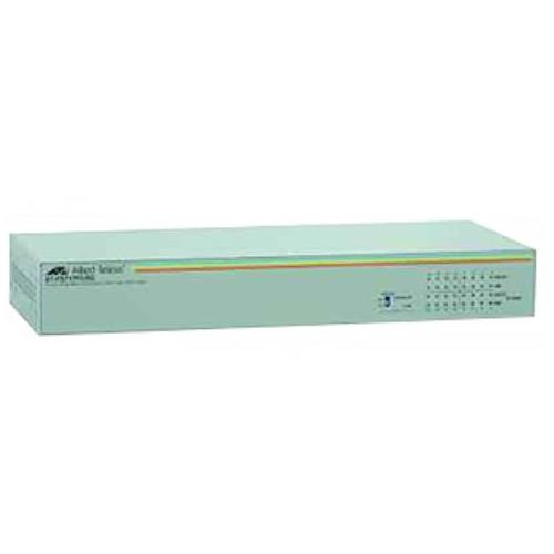 AT-FS717FC/SC-901 Allied Telesis 16-Ports 10/100 1Port SC 100Base-FX Unmanaged Switch (Refurbished)