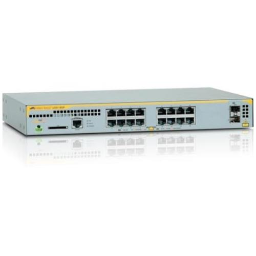 AT-X230-18GP-90 Allied Telesis 16-Ports 10/100/1000Base-T PoE+ Layer 2 Switch with 2x 100/1000Base-X SFP Ports (Refurbished)