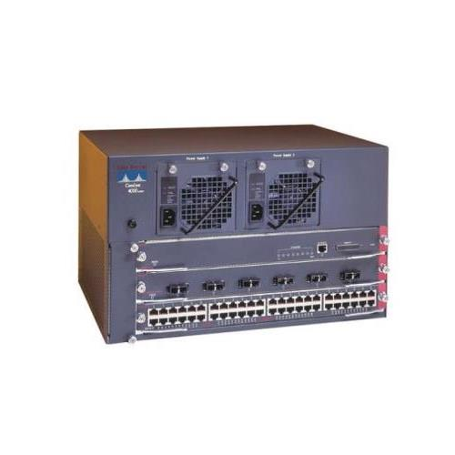 WS-C4003-S1 Cisco Catalyst 4003 3 Slot Chassis Switch USB Terminal Supervisor 1 Power Fan Rack Mount (Refurbished)