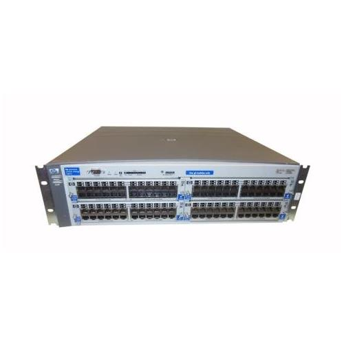 J4887-60005 HP ProCurve Switch 4104GL 4 Open Module Slot Chassis with Power Supply (Refurbished)