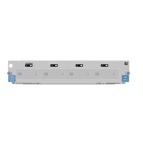 J8707-61001 HP ProCurve 5400zl 4-Port 10-Gbase-X2 XFP Local Connection Module (LCM) Switch Expansion Module (Refurbished)