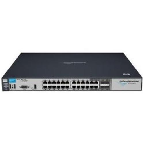 J9049A#ABA HP ProCurve 2900-24G Stackable Managed Layer-3 Ethernet Switch 24 x 10/100/1000Base-T LAN 4 x SFP (Mini-GBIC) (Refurbished)