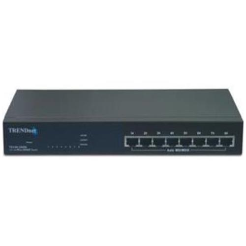 TE100-S800I TRENDnet TE100-S800i 8-Ports 10/100Mbps Layer 2 Managed Switch 8 x 10/100Base-TX LAN (Refurbished)