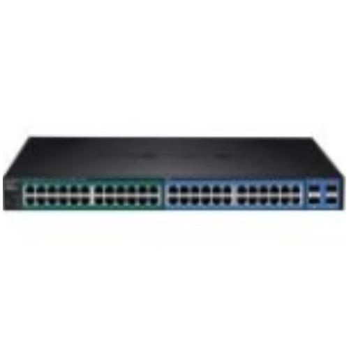 TL2-PG484 TRENDnet 48-Port Gigabit PoE+ Managed Layer 2 Switch with 4 Shared SFP Slots (Refurbished)