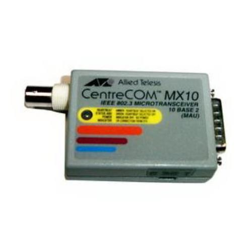 AT-MX10C Allied Telesis CentreCOM MX10 IEEE 802.3 10Base-2 MAU Micro Transceiver Module