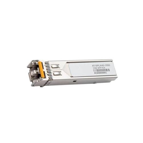 AT-SPLX40/1550-90 Allied Telesis Small Form Pluggable 1x 1000Base-LX SFP 40km 1550nm Transceiver Module