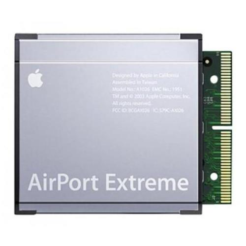 661-2755 Apple AirPort Extreme 11 Channel Card for eMac (2005 ATI Graphics USB 2.0) iBook G4 (14-inch) iMac (17-inch Flat Panel 1GHz USB 2.0) (Refurbished)
