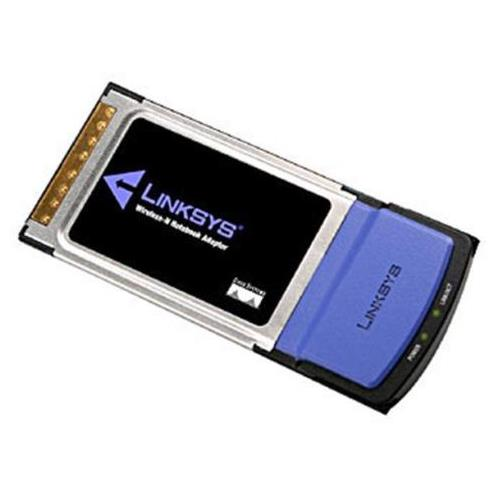 WPC300N Linksys Wireless-N Notebook Adapter PC Card MIMO (Refurbished)