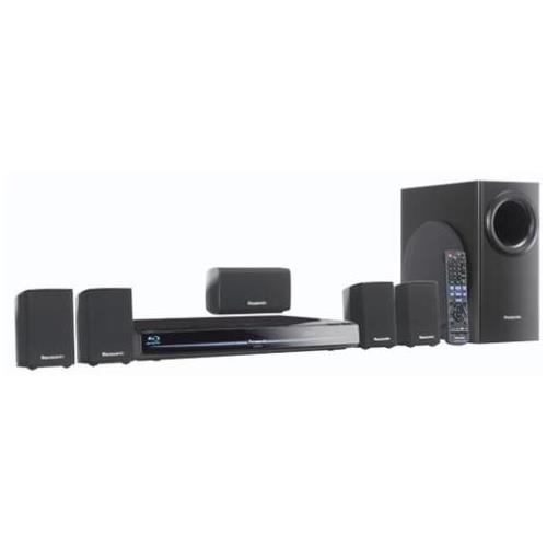 SC-BT230 Panasonic SC-BT230 5.1 Home Theater System 1000 W RMS Blu-ray Disc Player DTS, DTS HD BD-RE, DVD+RW, DVD+R, DVD-RW, DVD-R, DVD-RAM, CD-RW AVCHD, BD Video, DVD Video, MPEG-2 Ethernet HDMI USB iPod Supported (Refurbished)