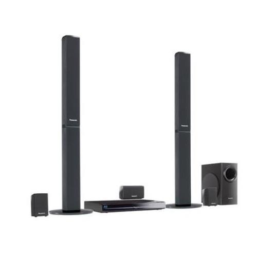 SC-BT330 Panasonic SC-BT330 5.1 Home Theater System 1000 W RMS Blu-ray Disc Player DTS, DTS HD BD-RE, DVD-RAM, DVD+RW, DVD-RW, DVD+R, DVD-R, CD-RW AVCHD, BD Video, DVD Video, MPEG-2 Ethernet HDMI USB iPod Supported (Refurbished)