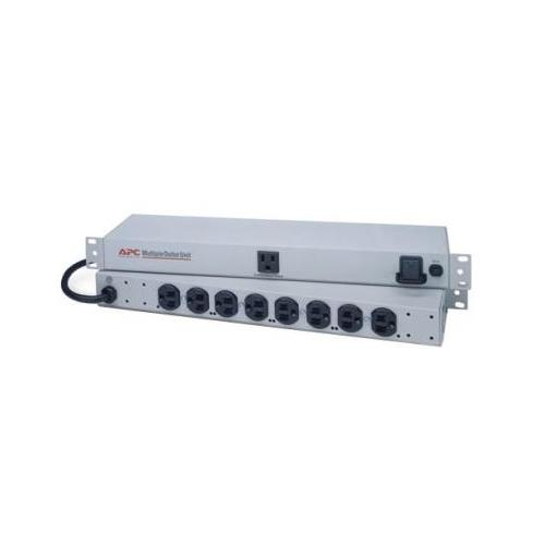 "MO9RM APC Basic Rack 9Port PDU 9 x NEMA 5-15R 1800VA 1U 19"" Rack-mountable (Refurbished)"