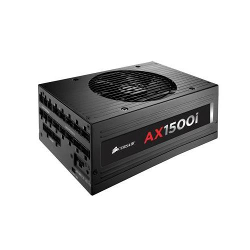 CP-9020057-NA Corsair AX1500i 1500-Watts ATX12V/EPS12V 20+4 Pin 80 PLUS Titanium Certified Digital Power Supply