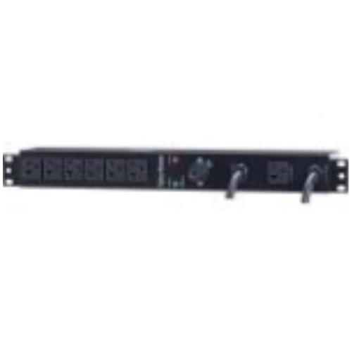 MBP20A6 CyberPower Maintenance Bypass NEMA 5-20P 6 x NEMA 5-20R 120 V AC 1U Rack-mountable