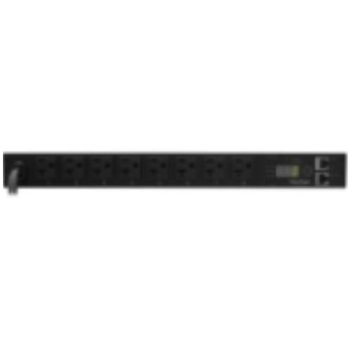 "PDU20M8FNET CyberPower Monitored PDU RM 1U 20A 8-Outlet 8 x NEMA 5-20R Zero U 19"" Rack-mountable, 1U 19"" Rack-mountable"