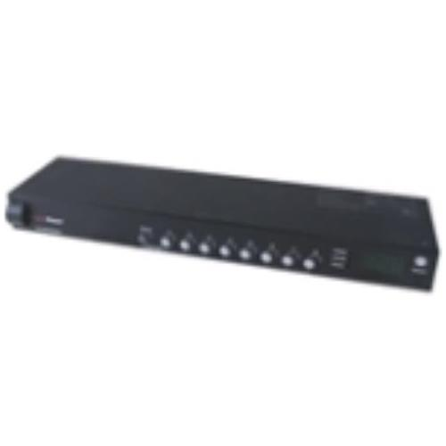 PDU20SW8RNET CyberPower Switched 8-Outlets PDU 8 x NEMA 5-20R 1U Rack-mountable, Zero U Vertical Rackmount