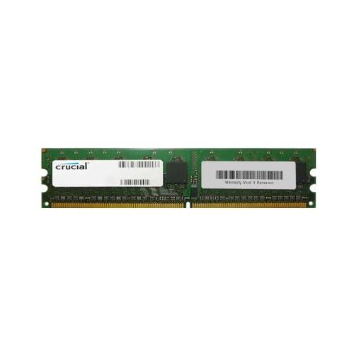 CT1201335 Crucial 1GB PC2-6400 DDR2-800MHz ECC Unbuffered CL5 240-Pin DIMM Memory Module for Asus M3N72-T Deluxe
