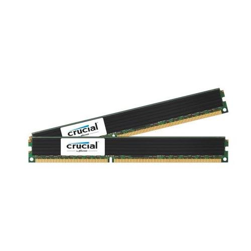 CT1923826 Crucial 8GB Kit (2 X 4GB) PC3-10600 DDR3-1333MHz ECC Registered CL9 240-Pin DIMM Very Low Profile (VLP) Dual Rank Memory for HP ProLiant DL585 G7 Server