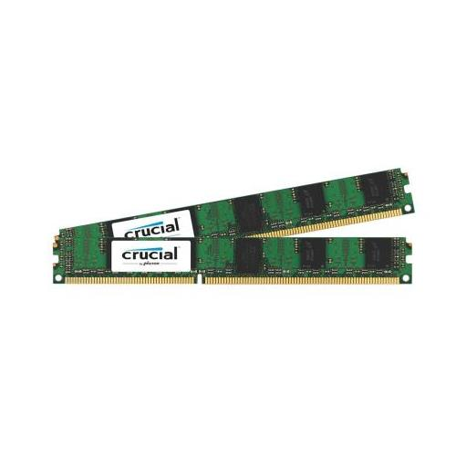 CT1923845 Crucial 4GB Kit (2 X 2GB) PC3-10600 DDR3-1333MHz ECC Registered CL9 240-Pin DIMM Very Low Profile (VLP) Dual Rank Memory for HP ProLiant DL585 G7 Server